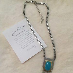 Jewelmint Lunar Blue Necklace
